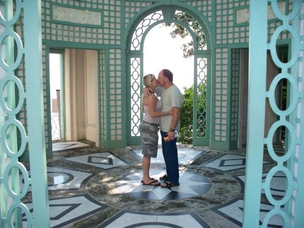 Ben and Nikki at Vizcaya
