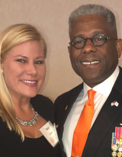 Nikki and Lt Col Allen West