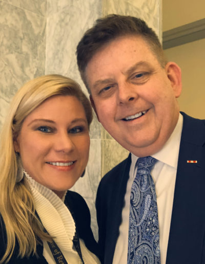 Nikki and One America News' Neil McCabe