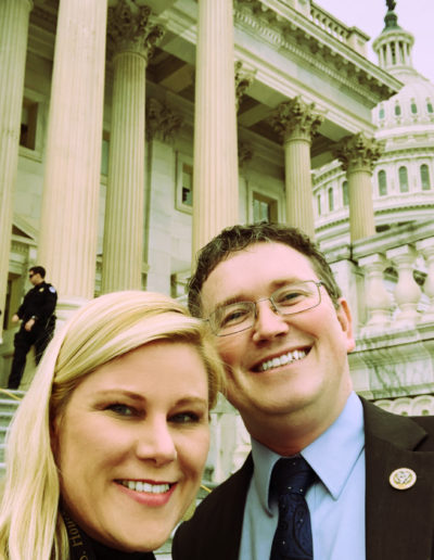 Nikki and Thomas Massie